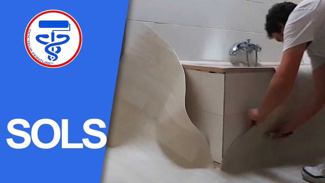 poser un sol vinyle dans une salle de bain