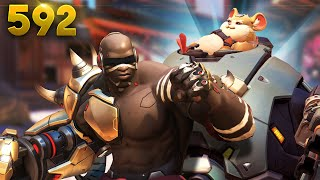 Blindest Doomfist EVER!! | Overwatch Daily Moments Ep.592 (Funny and Random Moments)