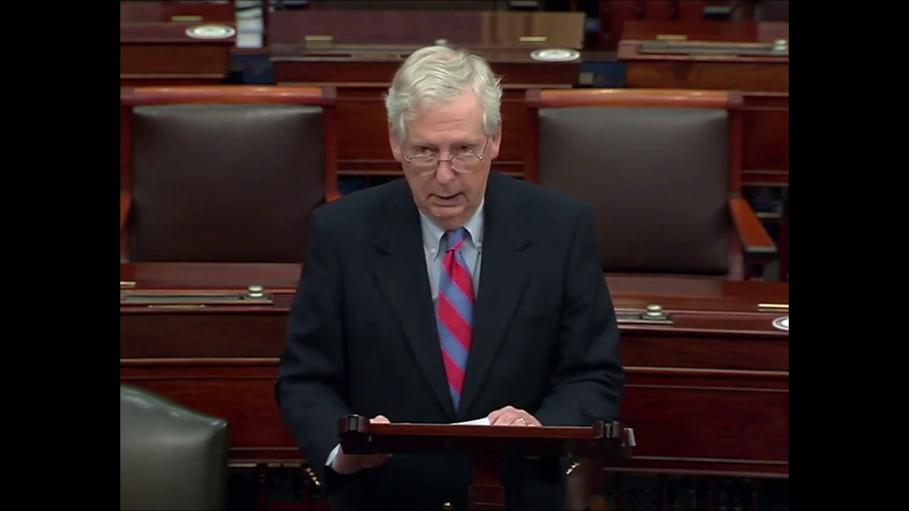 McConnell SLIPS and Admits Vaccine Truth