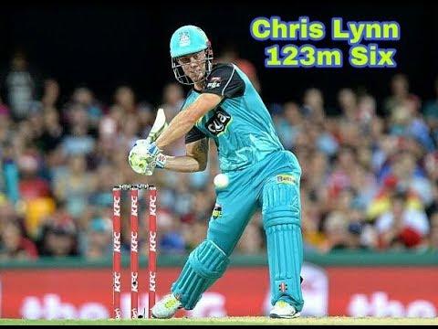 Chris Lynn hit 123m six