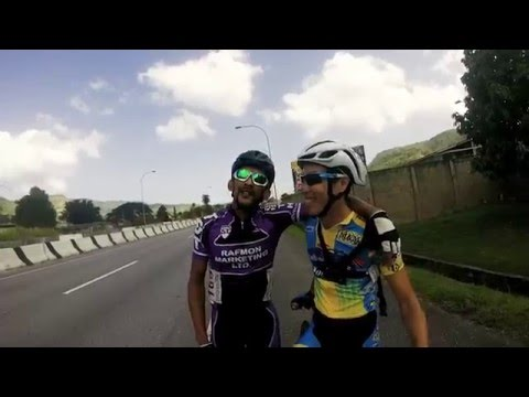 Travelling from Tobago to race Cat 3/4 in Trinidad
