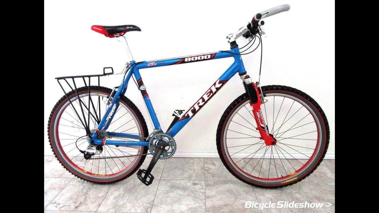 Trek 8000 SL Mountain Bike with Bontrager Accessories (Slideshow ...