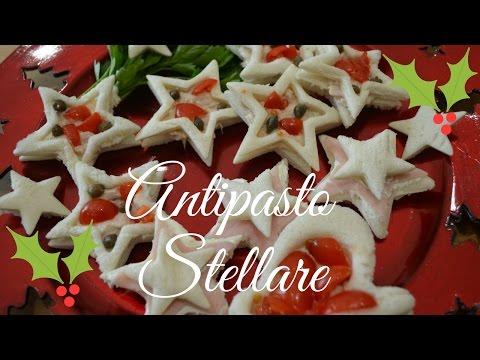 Antipasti Di Natale Youtube.Antipasto Stellare Per Natale E Capodanno Youtube