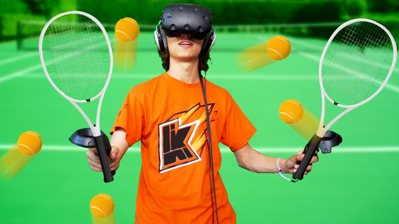 Sports In Virtual Reality Htc Vive Youtube