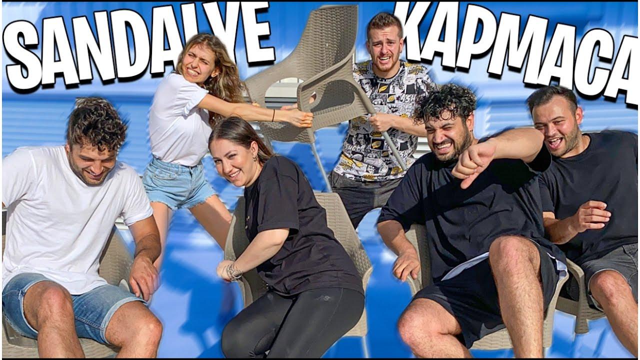KAYGAN ZEMİNDE SANDALYE KAPMACA! w/ Alper Rende, Betül Çakmak