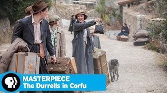 THE DURRELLS IN CORFU | Episode 1 Scene | PBS