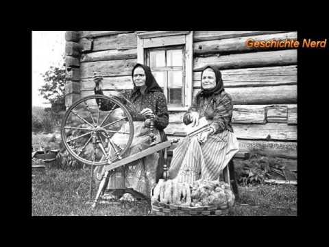 О жизни крестьянских девушек в России