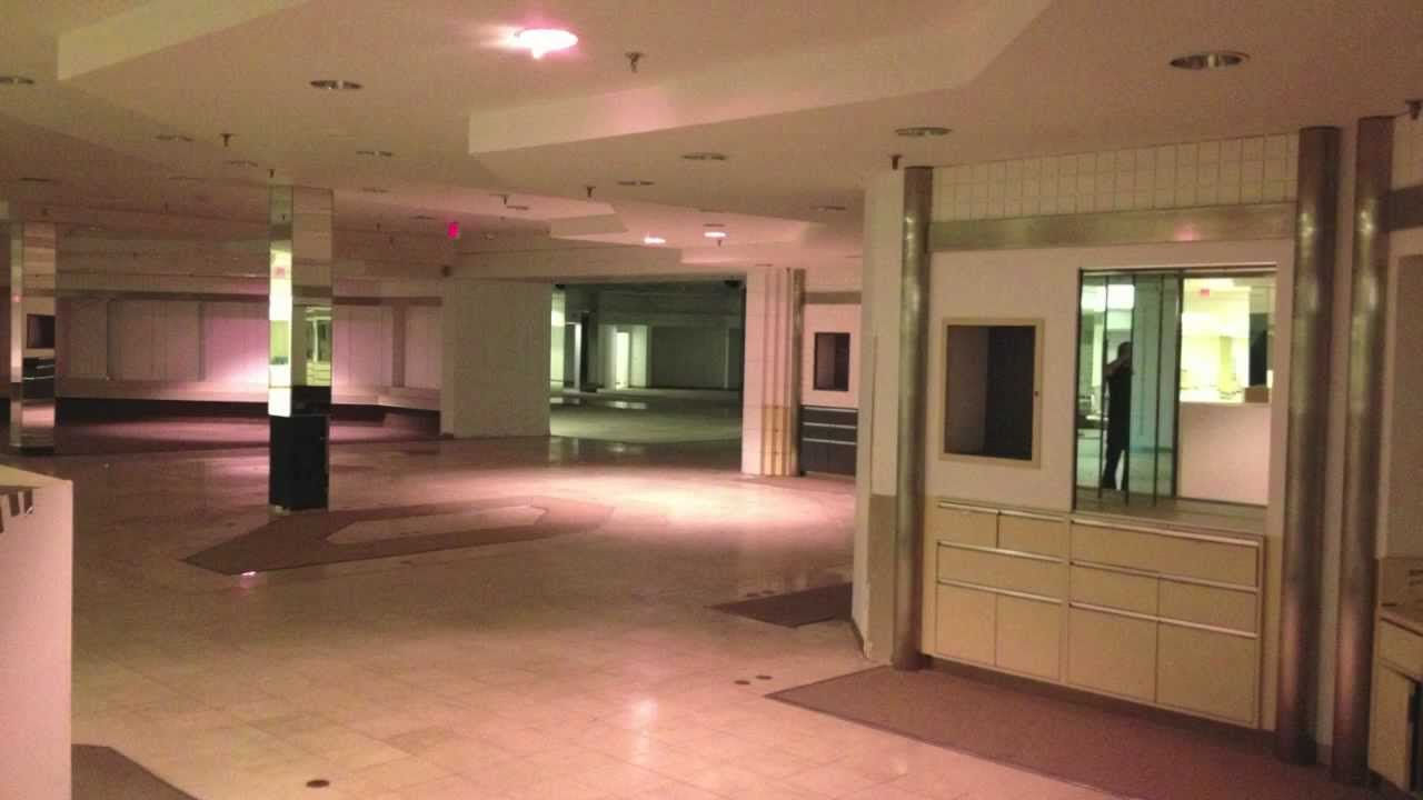 Abandoned And Preserved Macys In A Deadmall Urban