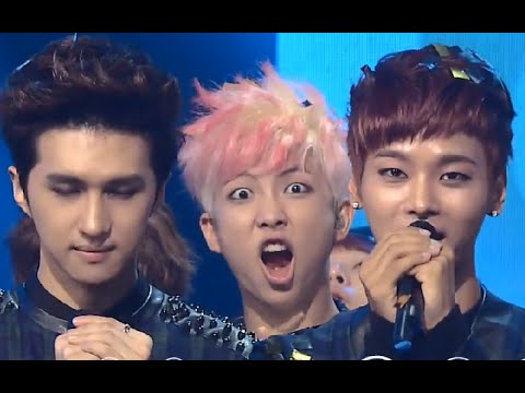 CUT] Rap Monster Cute & Funny Faces @ Inkigayo Ending - YouTube