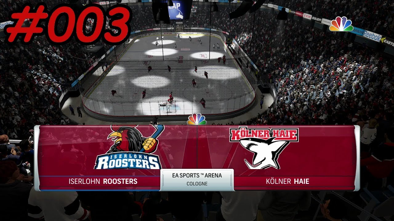 Iserlohn Rooster Nhl 18 Season Mode Del 003 Deutsch German Iserlohn Roosters