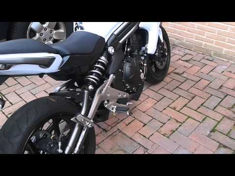 Kawasaki er6n 2012 full Leovince System