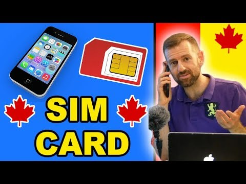 CANADA SIM CARD & CELL PHONE PLANS