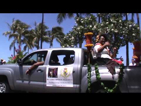 The Imperial Court of All Hawaii in the Honolulu Pride Parade 2015