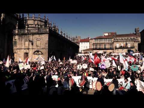 Manifestación Queremos Galego - Polas fillas dos nosos fillos!