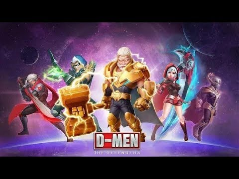 D-MEN:The Defenders - Gameplay - Android / Strategy / Mobile Game