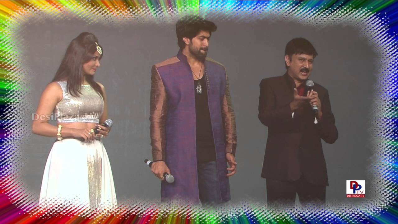 Yash and Radhika Pandit speaking at 9th Akka Convention Atlantic City 2016