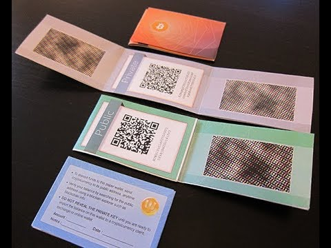 Paper Crypto Wallets Explained