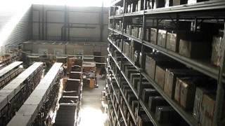 Грузовые стеллажи ИнтерСклад(На видео сняты грузовые стеллажи с полками. В данном проекте металлические стеллажи используются для архив..., 2015-12-07T09:08:44.000Z)
