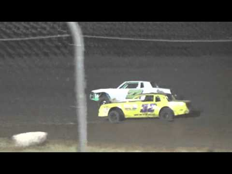 Ark La Tex Speedway Factory stock heat 4 part 2 cajun classic 2015