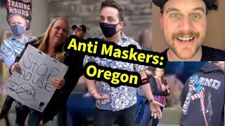 Anti Maskers: Oregon | Comedy React | SmileyDaveUK