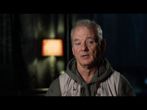 """The Jungle Book Behind The Scenes """"Baloo"""" Interview - Bill Murray"""