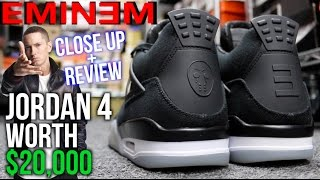 $25,000 Eminem Air Jordan 4 Review (Super Limited)