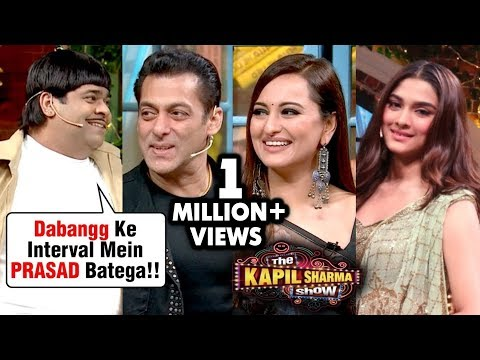 Bacha Yadav FUN COMEDY With Salman Khan, Sonakshi Sinha, Saiee On The Kapil Sharma Show Dabangg 3