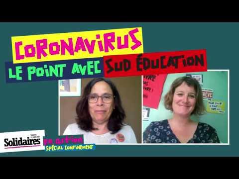 Coronavirus: le point dans l'éducation