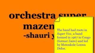 Orchestra Super Mazembe - Shauri Yako (LP)