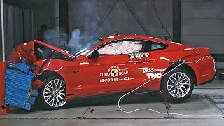 Ford Mustang (2017) Crash Tests Reassessment [YOUCAR]