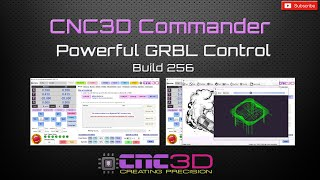 CNC3D Commander - GRBL Control Software BUILD 256