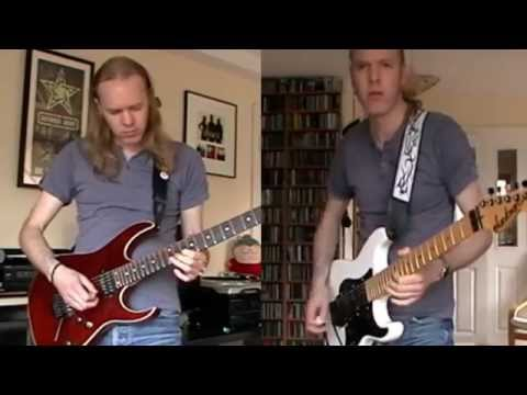 Iron Maiden - The Duellists Multi Guitar Cover by Eamon O'Neill