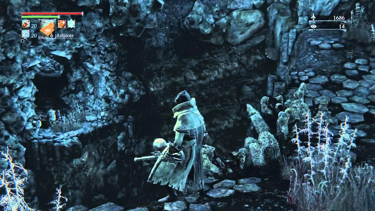 Bloodborne - Nightmare Frontier - Suicide Run to Messengers Gift ...