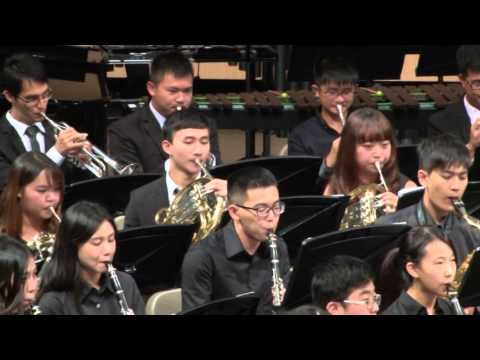 2015 宜蘭青年管樂團 02.The Great Locomotive Chase - Robert W  Smith