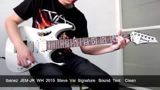 ibanez jem jr 2015 steve vai signature sound test