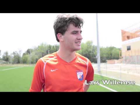 Post game interview Houston Dutch Lions FC PDL team against