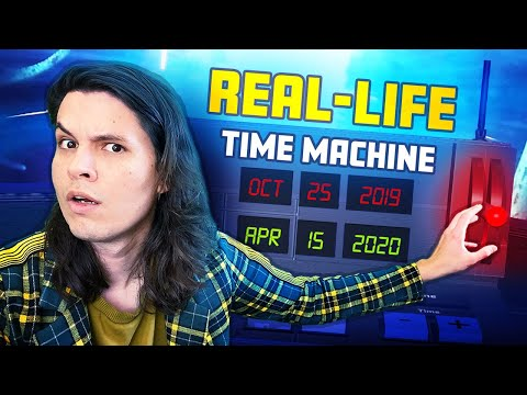 I Built a REAL-LIFE Time Machine! 🕒⚡
