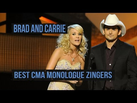 Brad Paisley and Carrie Underwoods Best CMA Zingers