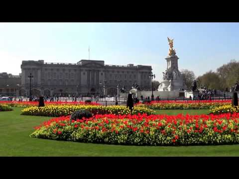 Sights of London, United Kingdom - Buckingham Palace, Westminster Abbey, Big Ben, London Eye