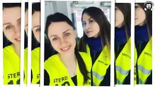 Девушки на концерте Ленинграда (Красноярск 21.04.2019)