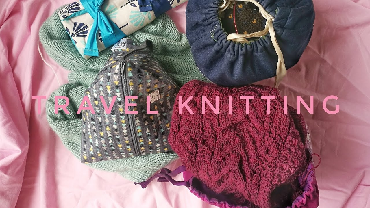Knitting projects for vacation: my travel knitting