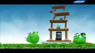 Samsung Galaxy Ace & Angry Birds