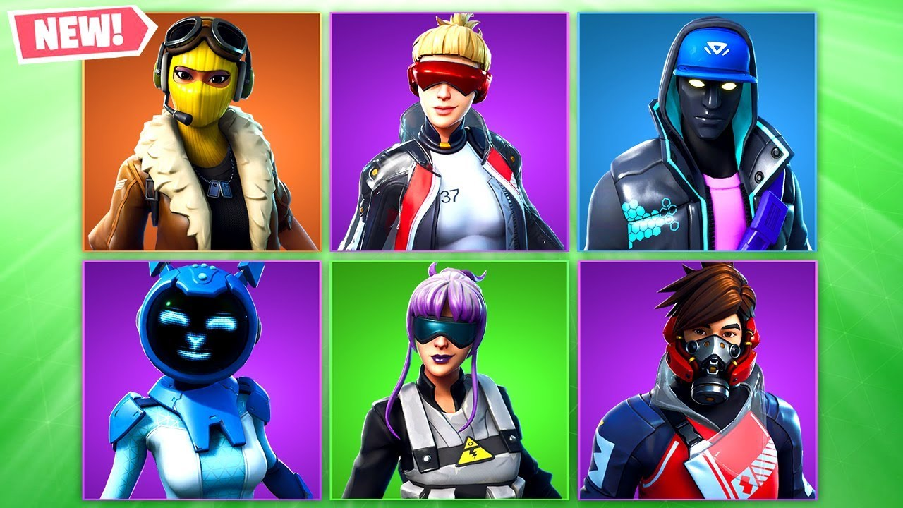 *ALL* LEAKED FORTNITE SKINS In SEASON 9! (New Leaked Fortnite Skins)