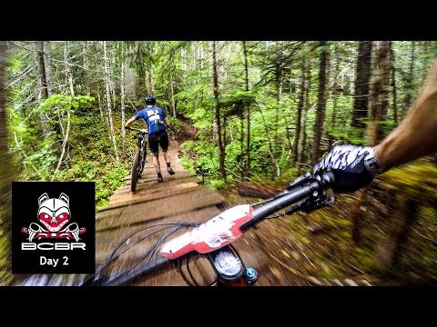 Is It Just Faster To Run This Race? | BC Bike Race 2019 - Day 2
