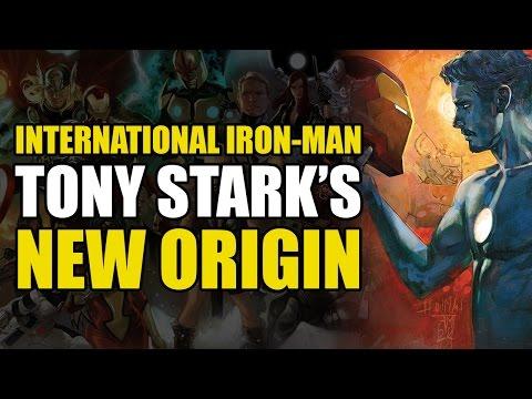 Tony Stark's New Origin (ANAD International Iron Man Vol 1)