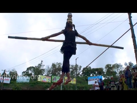 Street Circus in Madikeri Town