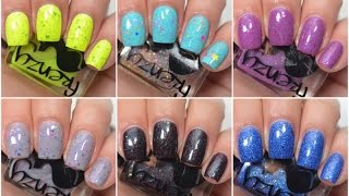Frenzy Polish - Gamer Girls Collection | Swatch and Review