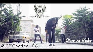 10  @CEObotics SG in Owo Ni Koko by @iamDavido  #EMBril Choreography ft SeriousGuys