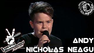 Download Andy Nicholas Neagu - Come with me now (Vocea Romaniei Junior 08/06/18)