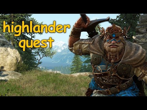 For Honor: Highlander Quest